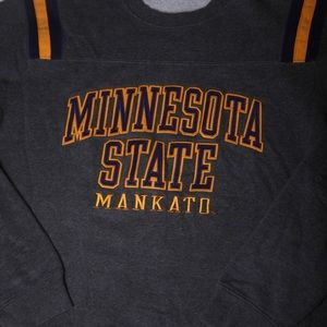 Minnesota state Champion Shirt Gray Purple